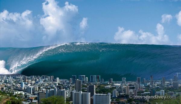 Tsunami/Lautan yang meluap