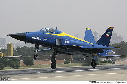 Pesawat tempur Republik Islam Iran Saeqeh