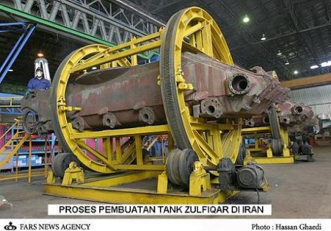Proses Pembuatan Tank Zulfiqar