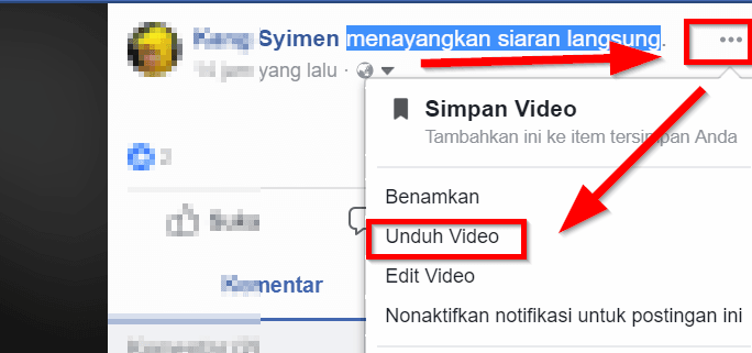 3 cara mudah download video dari Facebook