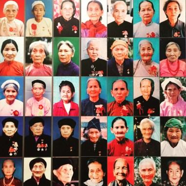 At the Women's Museum in Hanoi