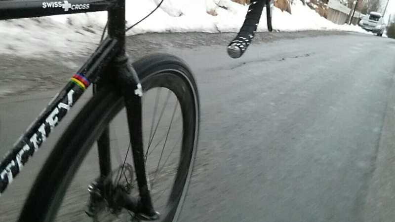piggdekktest sykkel