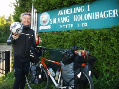 Meget fornøyd etter første etappe til Oslo!