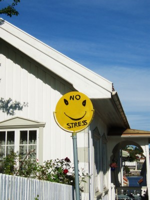 Man stresser ikke på Sørlandet!