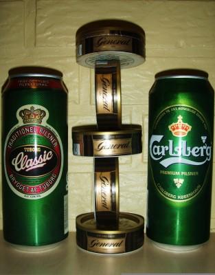 Øl og snus - det er livet!