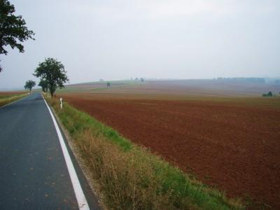Tidlig morgen på den tyske landsbygda!