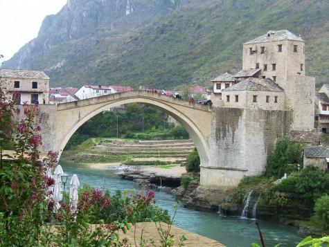 Den kjente brua i Mostar!