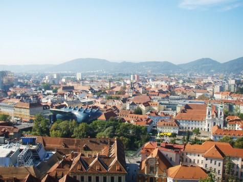Utsikten over Graz!