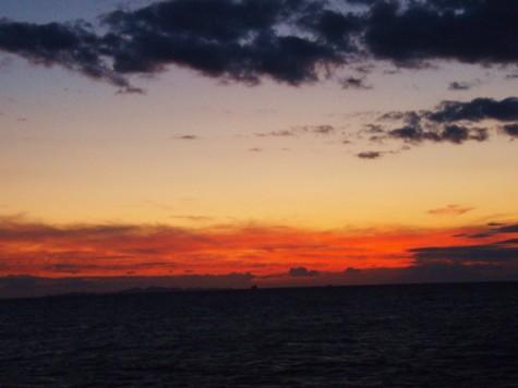 Vakker solnedgang! Kanskje prøve å komme frem noe tidligere i morra!