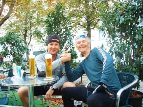 Thomas og meg i Graz i Østerrike!