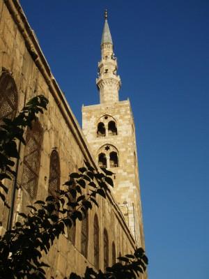 Omayade - moskeen i Damaskus
