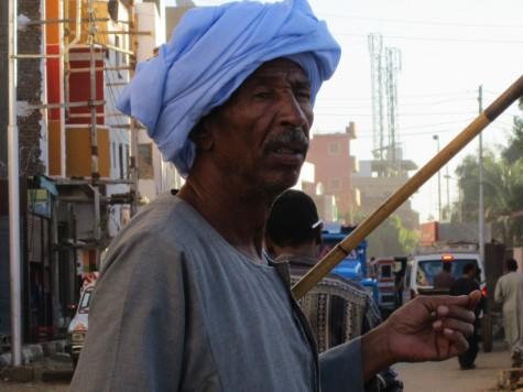 Stilig herre i Aswan!