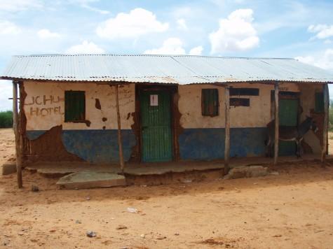 Hotell i Kenya - ikke akkurat Sheraton!