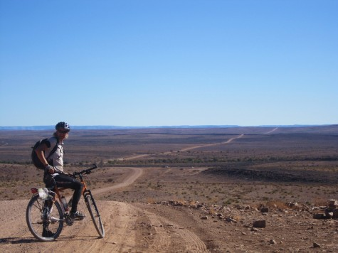 Mil etter mil med grusvei i Namibia!