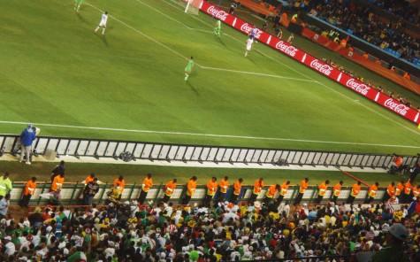Tett med vakter både innenfor og utenfor stadion!
