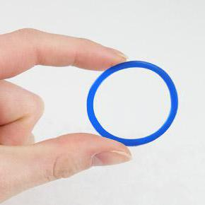 Brown discharge and novaring  Contraceptive ring