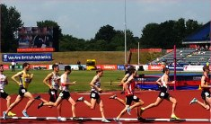 In 2013 the British Athletics Championships in Birmingham.
