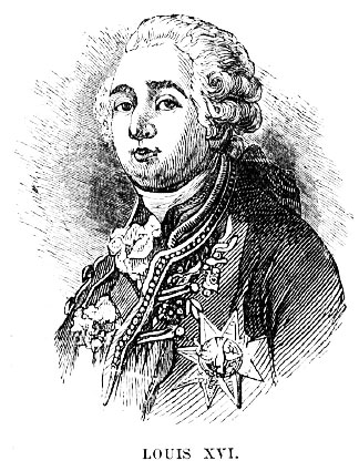 Louis XVI arrested in 1792.