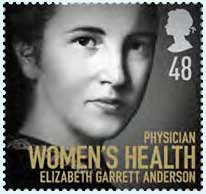 Elizabeth Garrett Anderson graduated as Britain's first woman doctor in 1865.