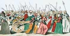 1789 women march on Versailles