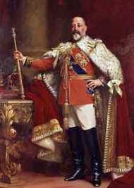 Edward VII was born in 1841.