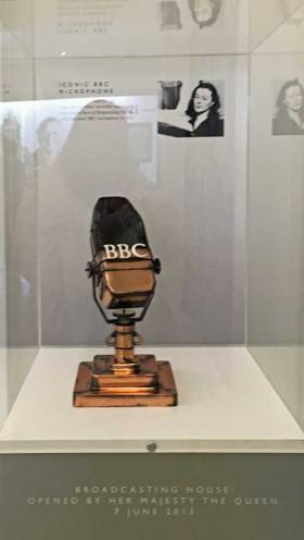 the BBC broadcast its first daily television news in 1954.