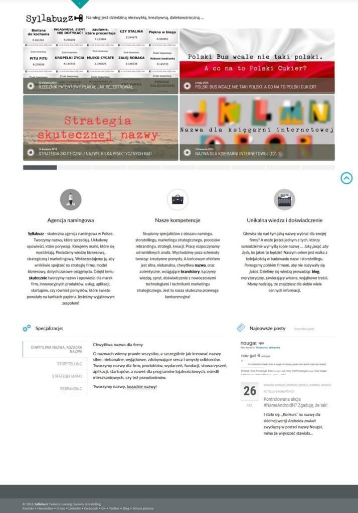 Syllabuzz.pl Main page
