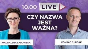 """Live FB / Magda i Wojtek – robieto.pl """"Naming, czyli o nazywaniu firm, marek i pomysłów"""""""