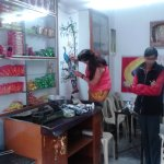 PAINTING IN ONE SHOP IN UDAIPUR 2013