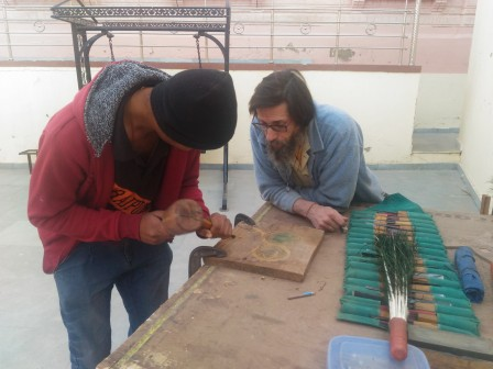 WOODCARVING CLASS