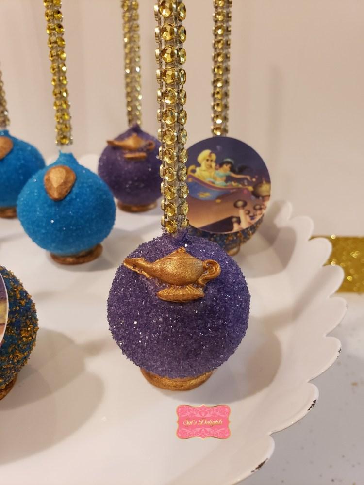 Aladdin Cakepops