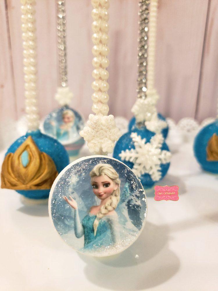 Elsa Cakepops