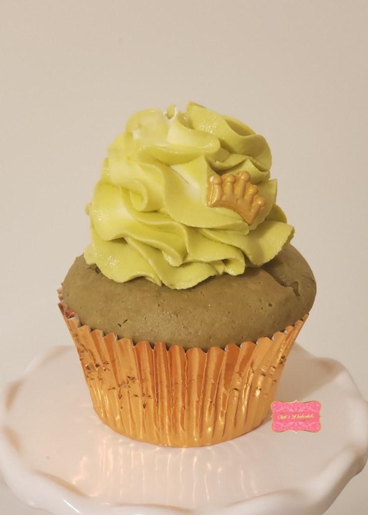 Matcha White choc. Cupcake