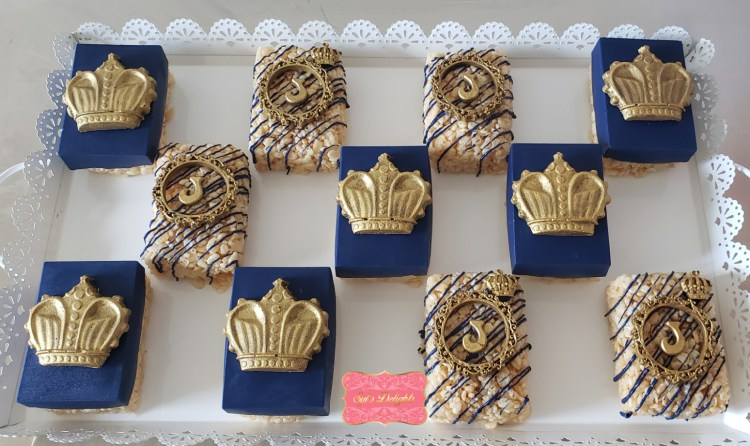 Royal crown rice krispies treats