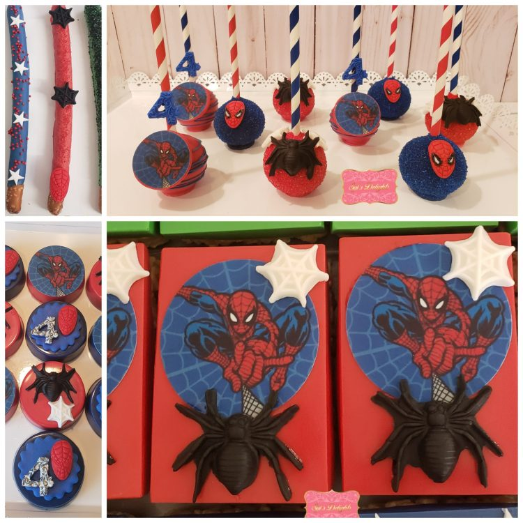 Spiderman party package