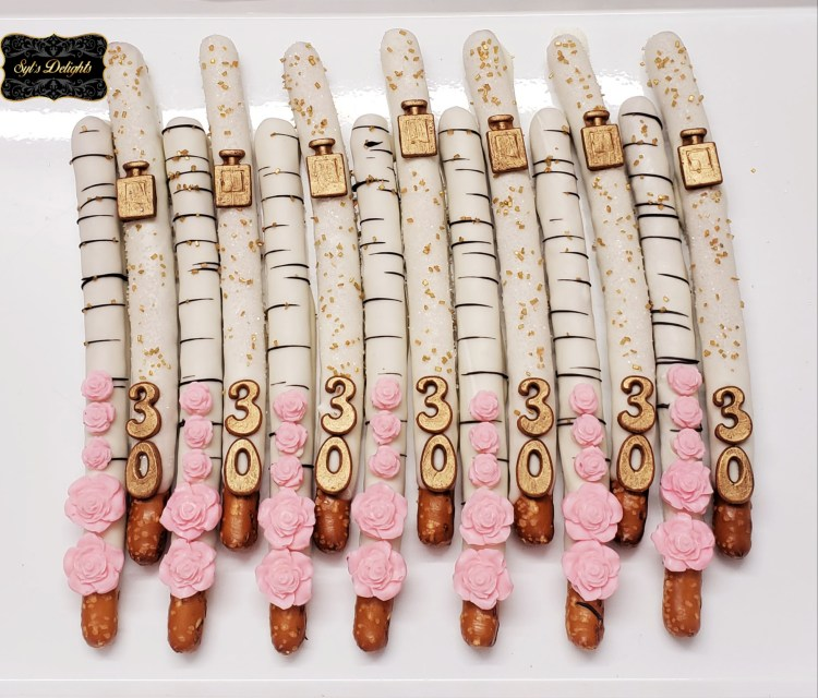 Fashion inspired Pretzel sticks