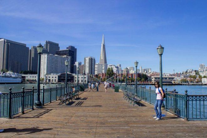 San Francisco, vue du Pier 5.