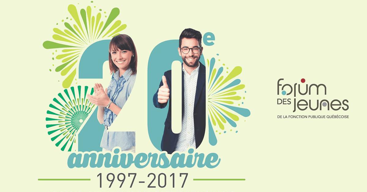 20e anniversaire du Forum des jeunes