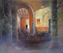 """Les racines"" huile 54 x 42 cm"