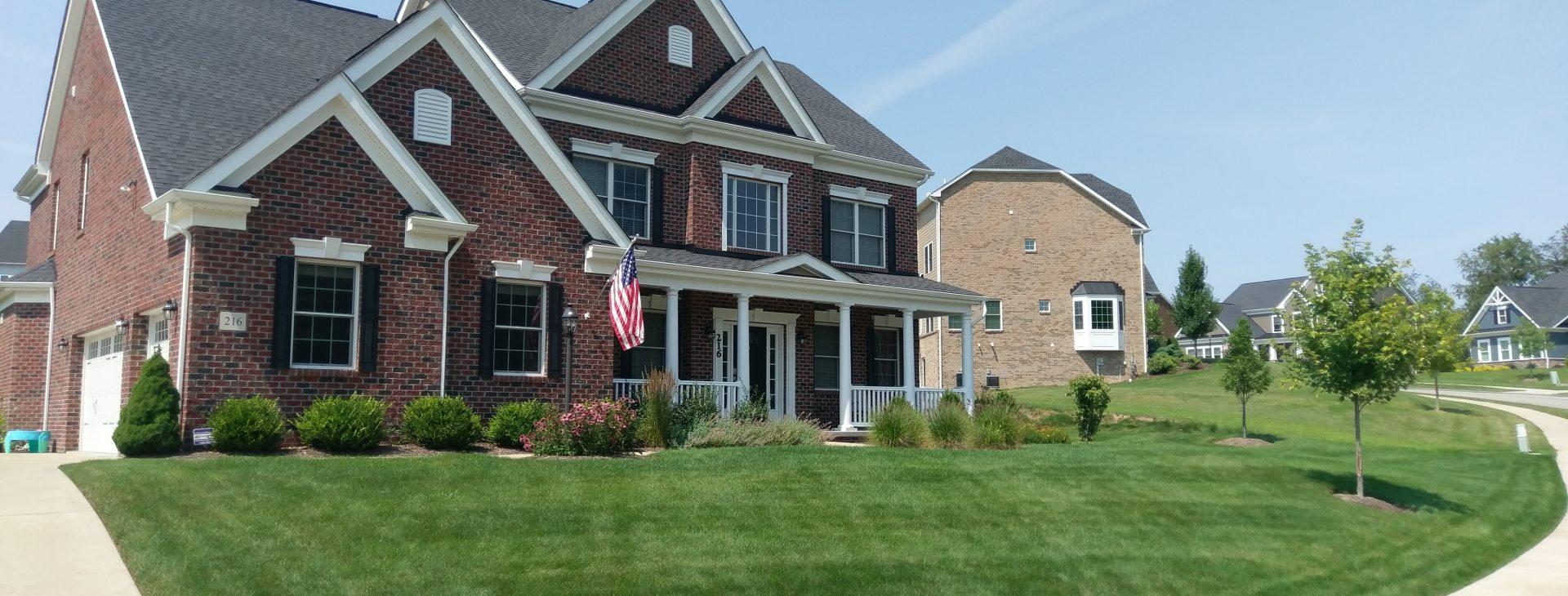 New Home Lawn & Landscape Renovation
