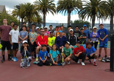 Great Group of Tennis Players