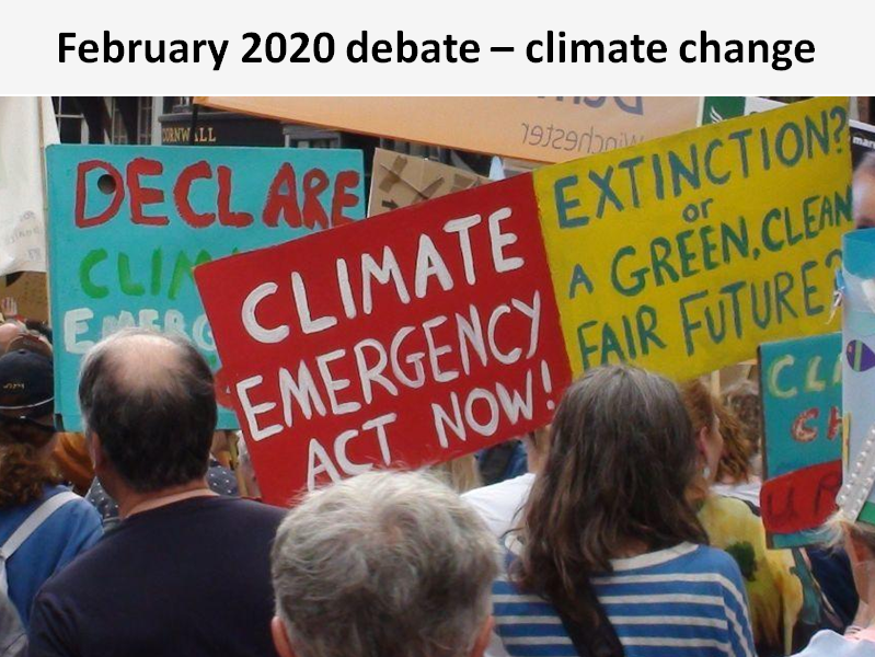 In this Extinction Rebellion debate, the Sylvans considered whether they support the climate protest movement and concluded they do not.