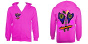 KidsCaraZoodie (Pink) £55 Sizes: 5- 6, 7-8, 9-10, 11-12, 12-14 years old