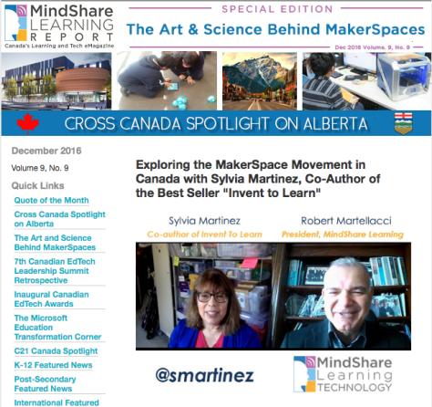 mindshare learning e-newsletter maker movement
