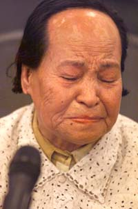 """Wan Ai Hua, the first """"comfort woman"""" survivor from China to publicly testify"""