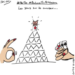 """#BalanceTonPtitCochon"" #metoo caricature"