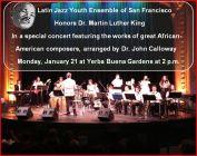 Concert flyer - Yerba Buena Center for the Arts