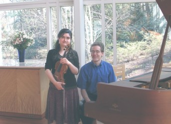 Recital with Lee Dietterich, piano. Glavin Family Chapel, Babson College.