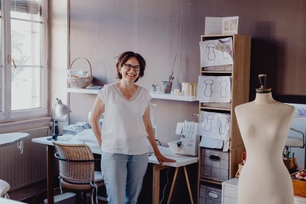 atelier couture Lyon, couture Lyon, couture sur mesure
