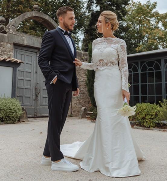 robe de mariée Lyon, robe de mariée sur mesure,